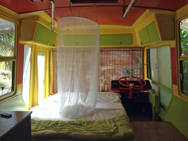Eco StayBus, 'Glamping in Paradise' - Bathsheba
