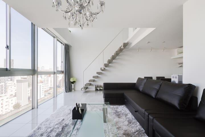 'Superior Suite 楽 Duplex-House' 복층 - 오사카 시 - Apartament