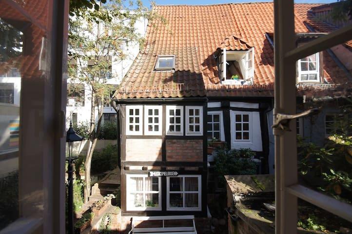 Not run-of-the-mill: the Schnoor - Bremen - Hus
