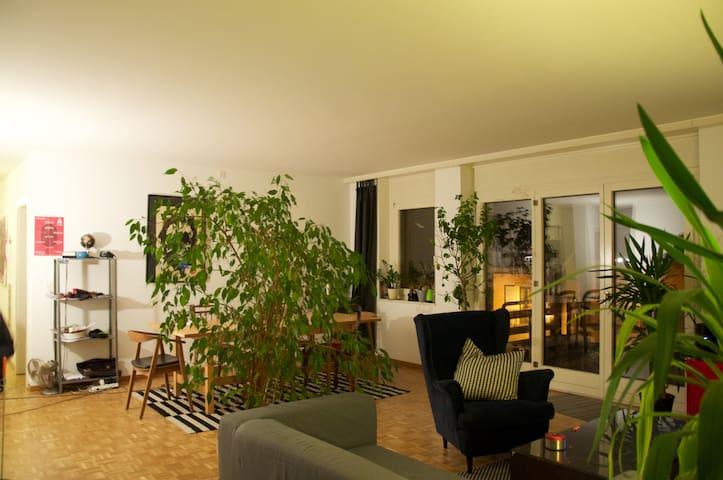 Chambre chaleureuse proche du centre ville - Yverdon-les-Bains - Lägenhet