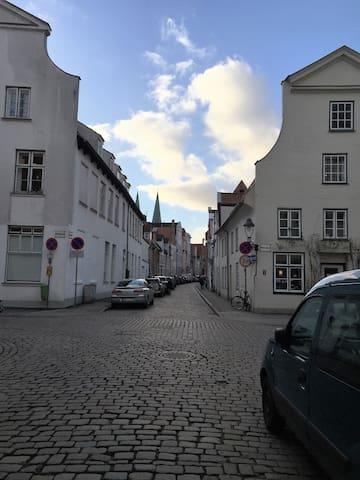 Lübecker Old- Town Flat in the City - Lübeck - Apartamento