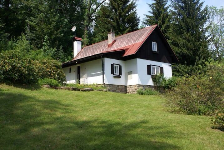 Beautiful cottage in mountain area - Velké Hamry