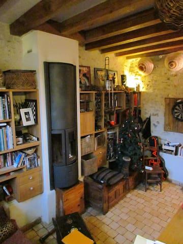 Charmante maisonnette à 3/4 d'heure de Paris - Haravilliers