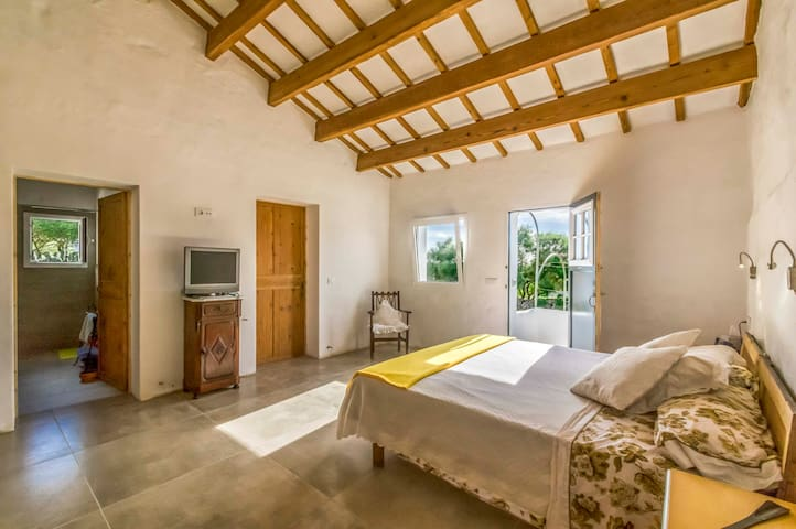 B&B rural 2 habitaciones y baño - 4/pax - Alaior - Bed & Breakfast