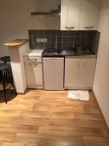 Appt T2 Meublé 35m2 chambre et salle de bain - Lille - Huoneisto