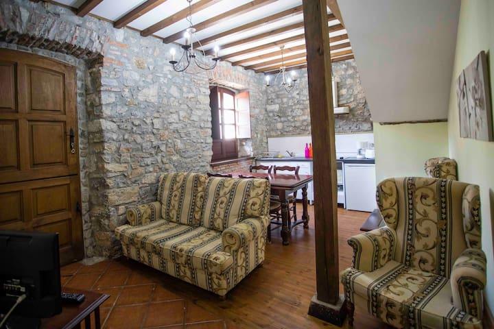 Apartamento para 4 personas, casa rural la Boleta - Puertas de Vidiago - Apartemen