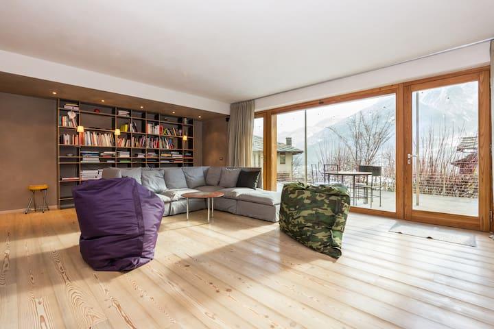 Ecofriendly Villa Nordic-Style, V - Villair-Amerique - Casa