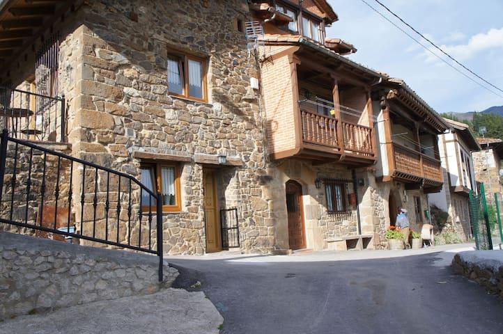 Pumareña, la Casita Vieja bij de Picos de Europa - Cobeña - Dům