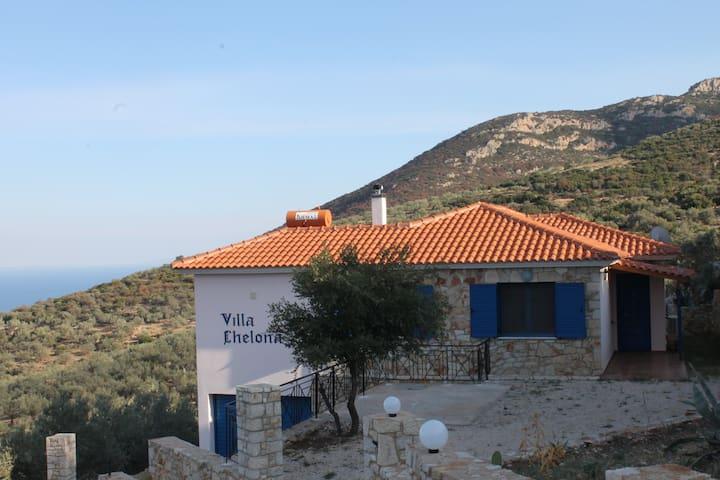New House with fantastic ocean view - Xiropigado