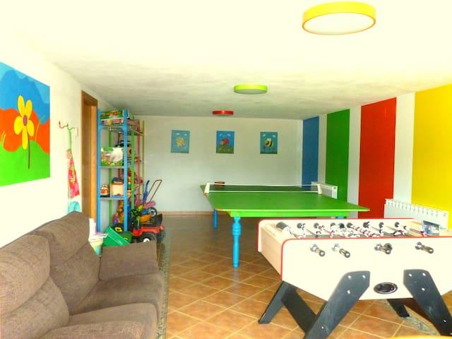 Casa rural en Navarra para familias con niños - Eulz - Ev