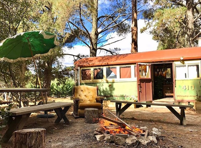 Tram and vintage caravan 5 minutes from Kyneton - Lauriston - Andre