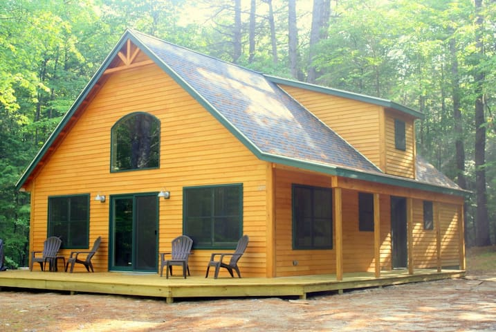 Private Cabin on Highland Lake. Now with Wifi! - Bridgton - Blockhütte