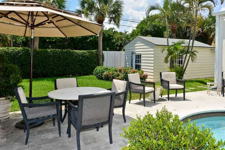 Charming Delray Beach Cottage - デルレイビーチ - 別荘