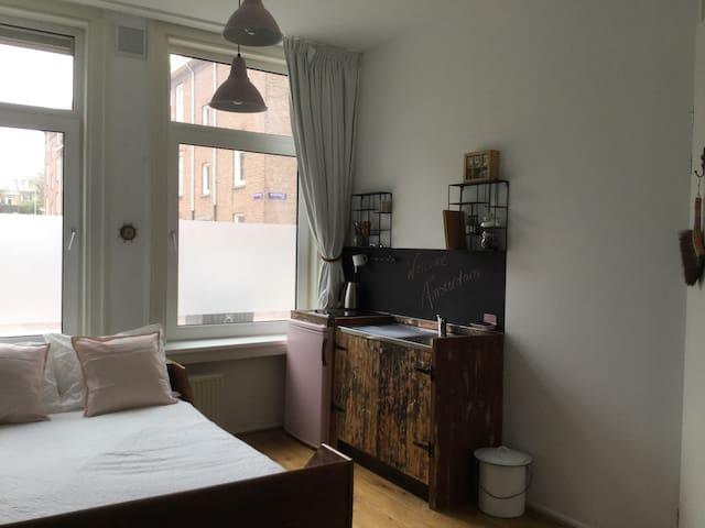 One of a kind studio, upcoming area. - Amsterdam - Appartamento