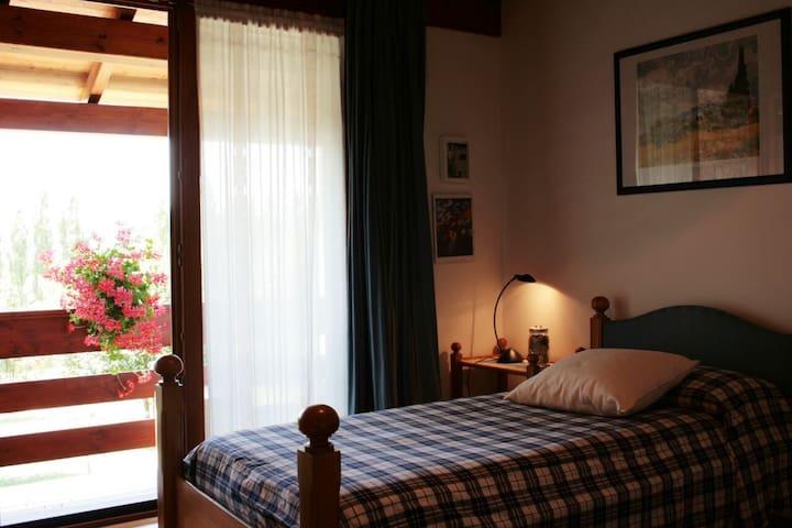 Camera singola a Santa Fosca - Pederobba - Oda + Kahvaltı