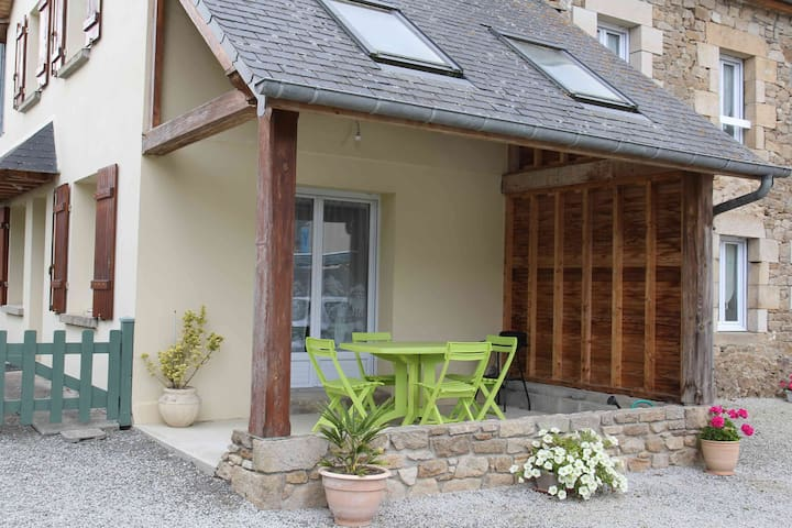 2 Charmante maison à la campagne - Saint Michel de Plélan - Huis