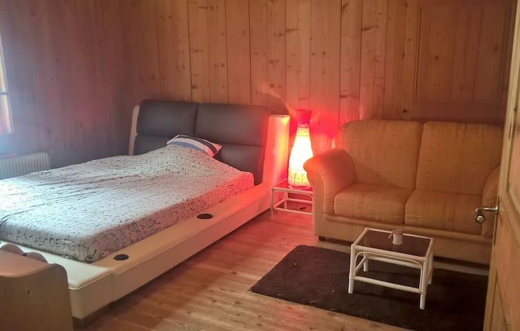 Chambre dans petit coin de PARADIS ... - Mont-Saxonnex - Chalet