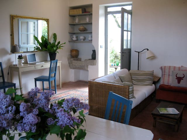 Charming attached cottage 5 mins from Nerac. - Nérac - Leilighet