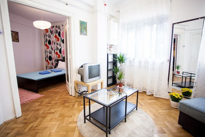 Chic Artistic Central Double Studio - Boekarest - Appartement
