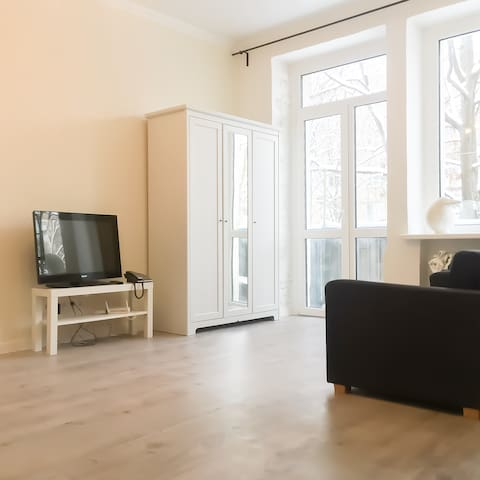 Studio apartment near railway station ,city centre - Minsk