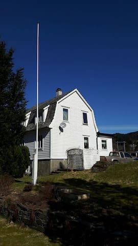 Familienhaus am Seimfjord - Seim - Huis
