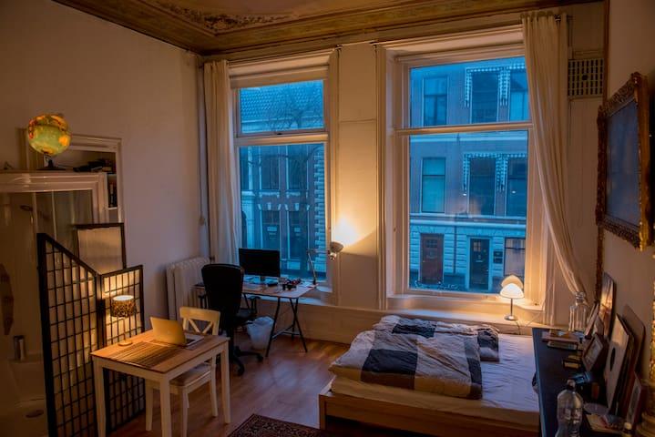 Cozy Studio Apartment in the Heart of Groningen - Groningen - Leilighet
