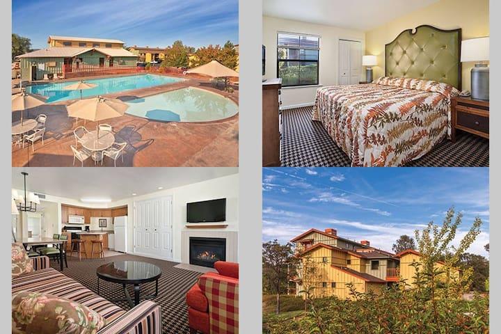 1 Bedroom Wyndham Angels Camp, CA - Angels Camp - Leilighet