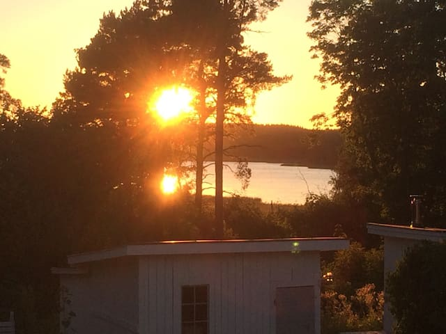 Own attic in the country side with a view - Norsholm - Loft