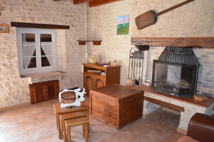 location saisonnière à la campagne - Saint-Amant-de-Montmoreau - Casa