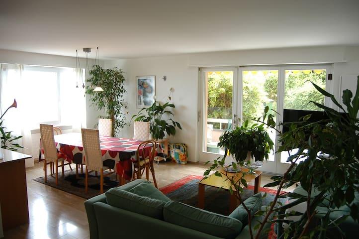 Magnifique 3.5 pièces avec vue lac - Neuchâtel - Appartement