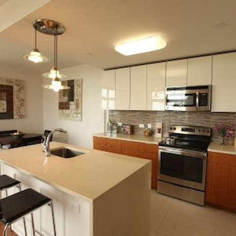 High-rise super clean luxury apartment - New Brunswick - Appartement