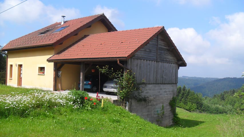 Private rooms in the heart of the Vosges - Girmont-Val-d'Ajol - Ev