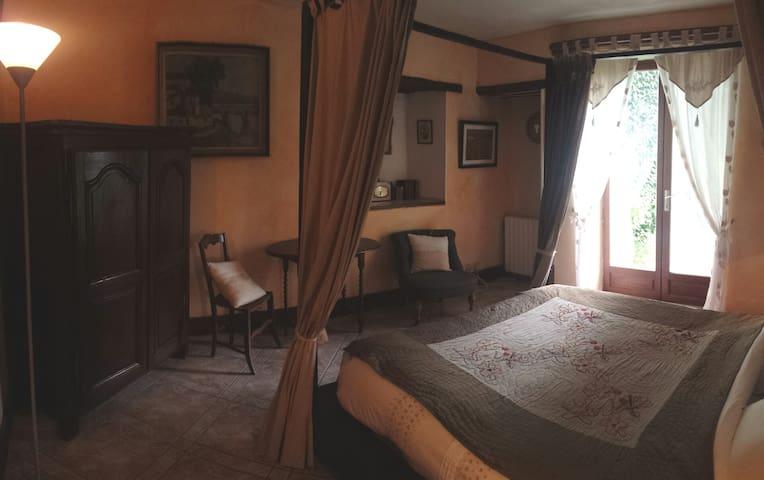 LE PORTAIL BLEU chambre -la Cosy- - Châtres - Casa