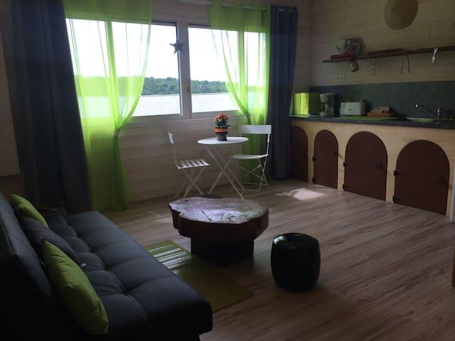 Studio au coeur du Ranch - Labretonie - Lägenhet