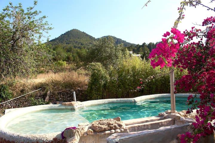 Artists Sanctuary, gaudi inspired finca with pool - Cala de Sant Vicent - Villa