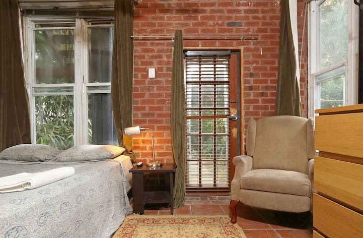 Bedroom with Garden at the Back - Brooklyn - Wohnung