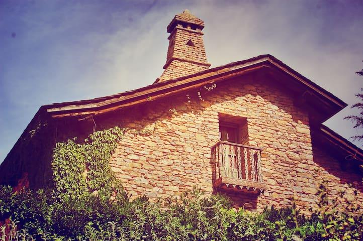 Un chalet de montaña muy especial  - Sort - Huis