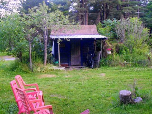 Camping - Glamp in Garden Shed in Our Big Yard - Hurleyville - Annat