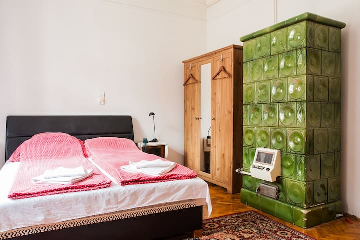 Room with free bikes at City Park - Budapest - Departamento