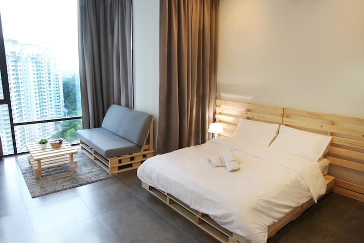IKEA Damansara 10 Mins to D'msr Uptown 17th Floor - Petaling Jaya