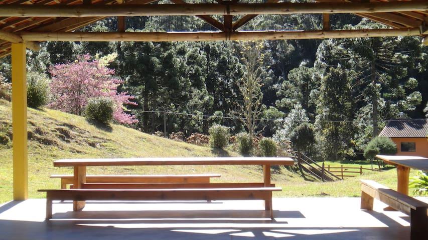 Chalé Campestre - Gonçalves - Cabaña