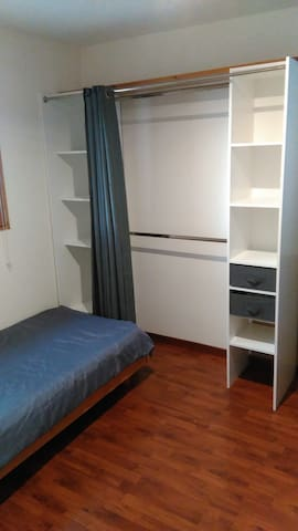 Chambre dans maison avec jardin - Trélazé - Hus