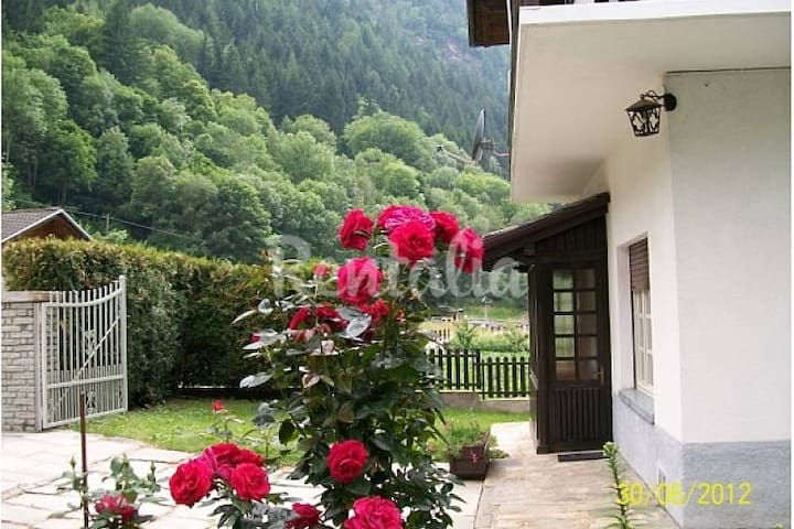 Vista monti e boschi - Aymavilles - Apartamento