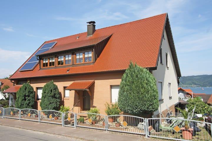 Gemütliche Wohnung mit schöner Seesicht - Bodman-Ludwigshafen - Departamento