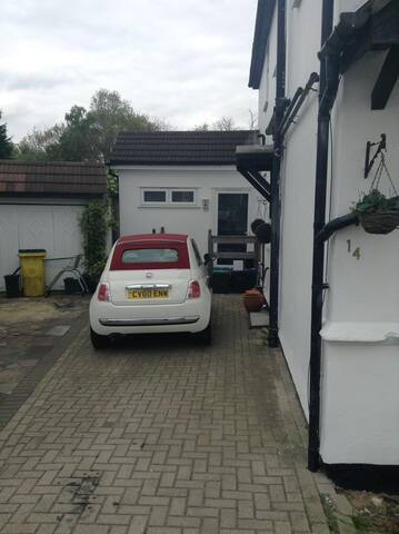 Self contained Annex double room 30mins London - Orpington - Gästhus