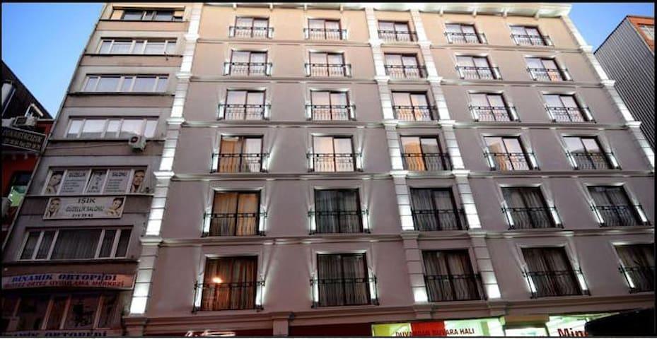 listana hotel - İstanbul - Aamiaismajoitus