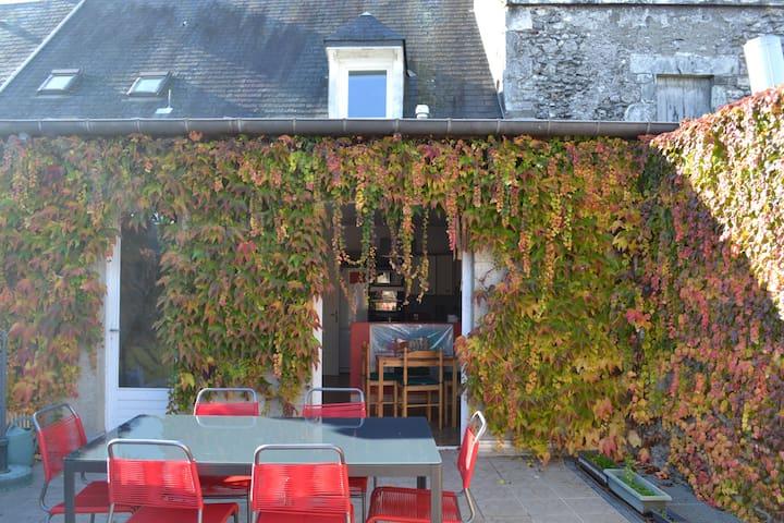 House - Loire valley castles  - Beaugency - Huis