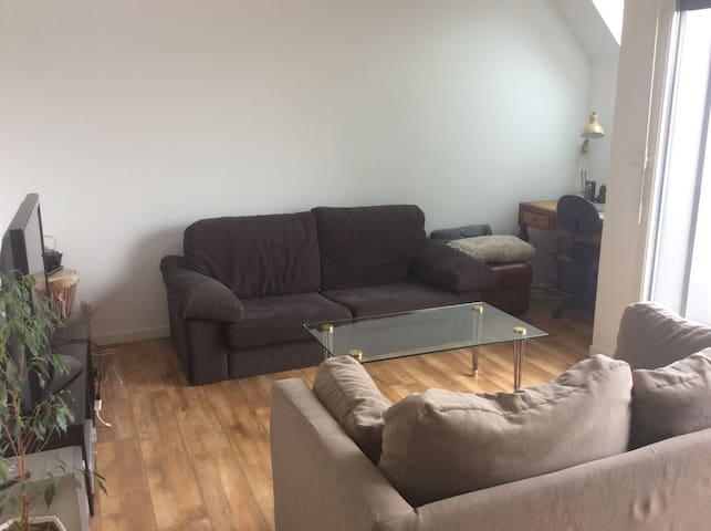 Appartement 2 personnes avec grande terrasse - Valenciennes - Daire