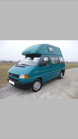 VW Bus T4 California mit Hochdach - Obergünzburg - Wóz Kempingowy/RV