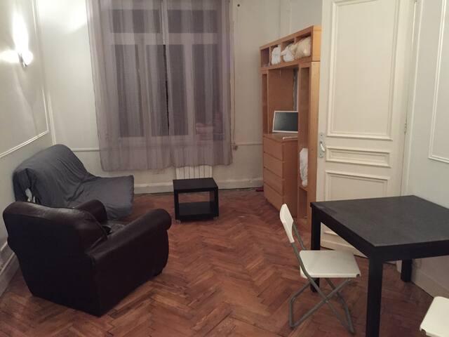Studio lumineux de 31m², 10 min de Lille - Lys-lez-Lannoy - Appartement